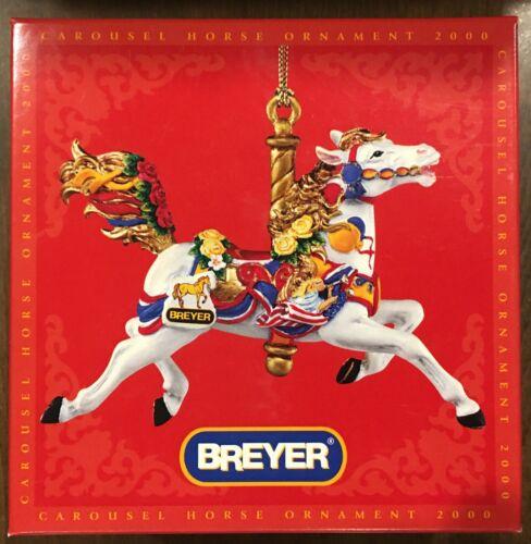 BREYER CAROUSEL HORSE ORNAMENT 2000 (700500) NEW IN BOX