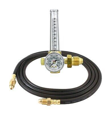 Victor Flowmeter Regulator Gauge For Argonco2. For Tig And Mig Welding