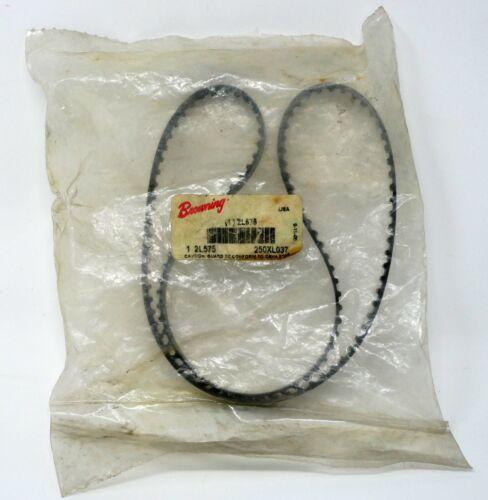 "Browning 2L575 25"" Long Gear belts 3/8"" W  250XL037 Synchronous Drive"