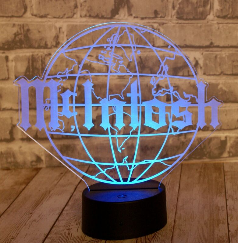 McIntosh Acrylic LED Lighted Sign 16 Colors With Remote High Quality!