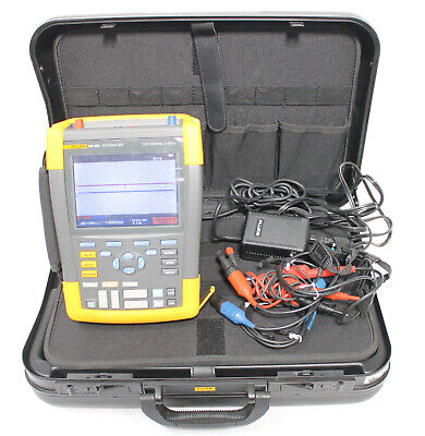 Fluke 190-202 Scopemeter 2.5gss 2 Channel 200mhz Oscilloscope