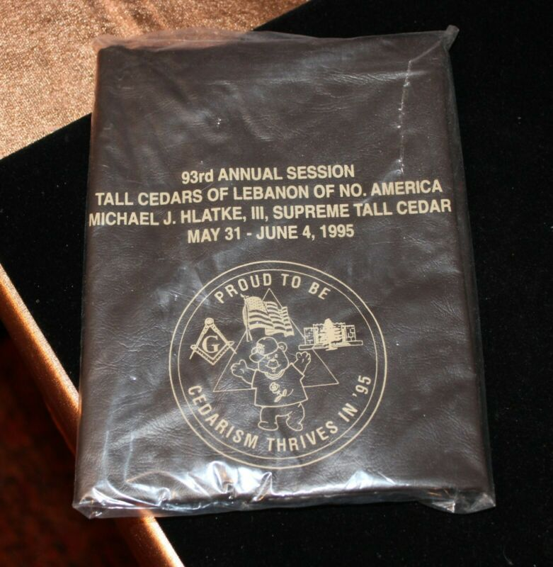 93RD ANNUAL SESSION TALL CEDARS OF LEBANON SUIT BAG