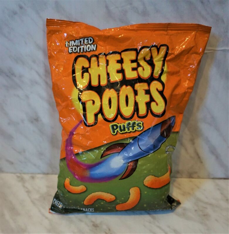 "Limited Edition South Park ""Cheesy Poofs"" Puffs. Frito Lay 2011 Rare collectible"