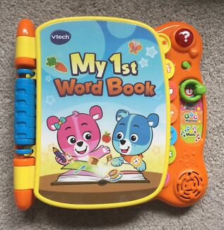 VTech My 1st Word Book Coburg Moreland Area Preview