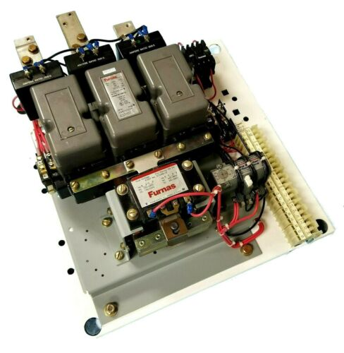 FURNAS 14KSU32A* SER. B SIZE 5 CONTACTOR W/COIL D72069-32 AND OVERLOAD RELAY