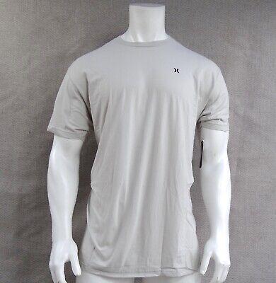 New Hurley Surfing Crew Icon Color Bone Men's Short Sleeve T Shirt RHRL-190