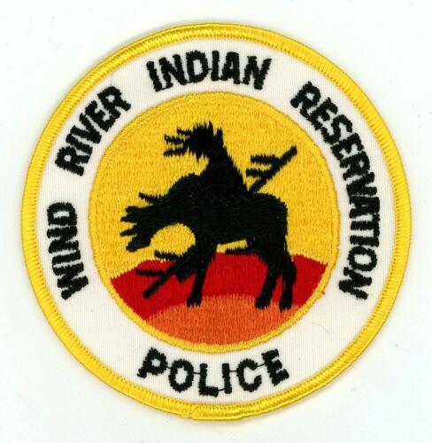Wind River Reservation Tribal Police Wyoming Vintage