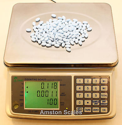 31 Off Refurbished Used Counting Parts Coin Scale 3 X .0001 Lb 1.5 Kg X 0.05 G