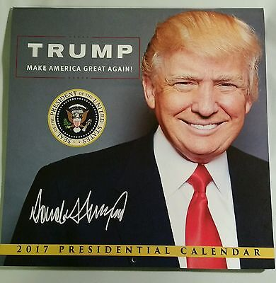 2017 Donald Trump Presidential Inauguration Calendar Make America Great Again