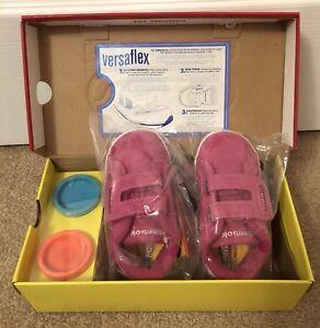 Reebok Toddler Versa NPC Play-Doh, Gypsy Pink/White, 6 US
