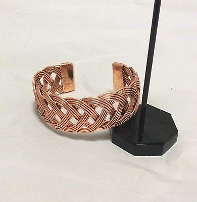 Gypsy Jewlery (Copper tone Cuff Filigree Bracelet Boho Gypsy Cuff Valentine Gift)
