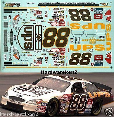 NASCAR DECAL #88 UPS 2001 FORD TAURUS DALE JARRETT - SLIXX