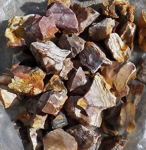 ZEBRA-JASPER-ROUGH-ROCK-ROCKS-Stones-Tumbler-tumbling-LAPIDARY-1-LB-MADAGASCAR