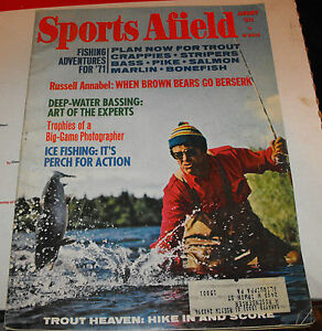 Sports afield hunting and fishing magazine jan 1971 deep for Hunting and fishing magazine