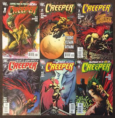 (The Creeper # 1 2 3 4 5 6 DC Comics Complete Set Steve Niles NM)