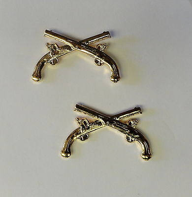 U.S. ARMY OFFICERS MILITARY POLICE LAPEL INSIGNIA