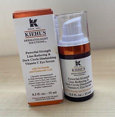 Kiehl's Powerful Line & Dark Circle Reducing Vitamin C Eye Serum Cream 15ml