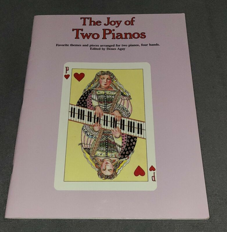 The Joy Of Two Pianos Duets Four Hands Intermediate Sheet Music Book