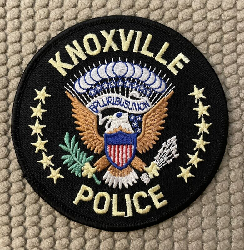 Knoxville Police Patch 4""