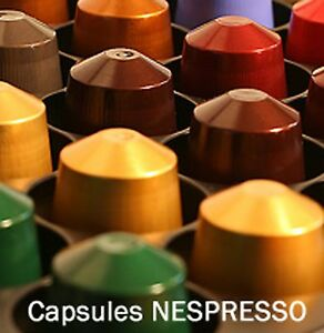 150 capsules nespresso au choix vraies dosettes neuves colissimo express ebay. Black Bedroom Furniture Sets. Home Design Ideas