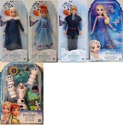 DISNEY- Puppe-HASBRO-Frozen Adventure-Aussuchen:Elsa, Anna, Kristoff