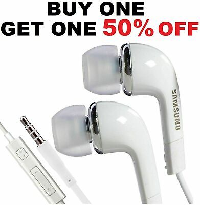 OEM New Original Samsung Galaxy Earphones Earbuds White Headphone s5 s6 s7 s8 s9