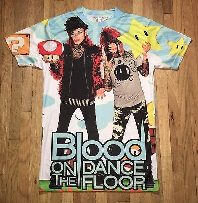 BOTDF Blood On The Dance Floor Star Power All Over Shirt XS Extra Small NWOT