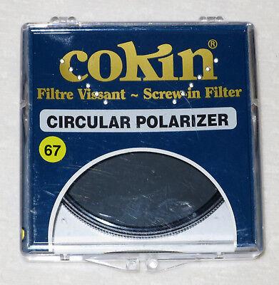 COKIN Filtre à visser Circular Polarizer 67mm Polarisant Très Bon Etat