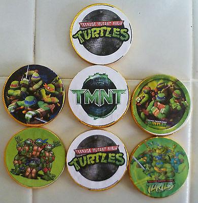 10 Teenage Mutant Ninja Turtles Schokolade Münzen Gastgeschenke, Party Geschenke