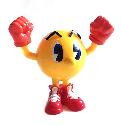 """Atari Nintendo PAC MAN 10"""" video game toy figure GREAT FOR PLAY OR DISPLAY for sale  United Kingdom"""