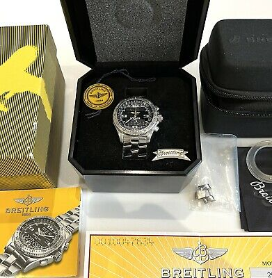 Breitling B1 - A68362 Box & Papers Original Receipt +Travel Case & New Battery
