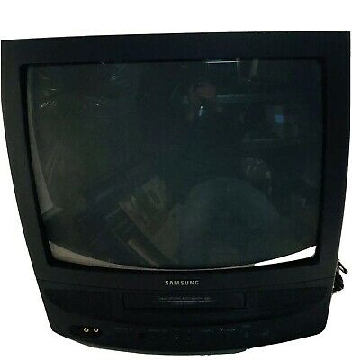 "Samsung 19"" CRT TV VCR Combo Retro Model CXJ1952"
