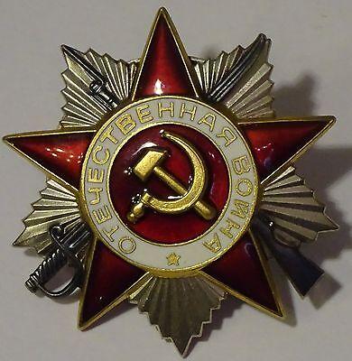 Orden des Vaterländischen Krieges (SILBER) UdSSR, CCCP. 100% original !!!