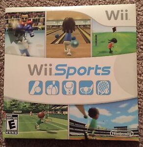 Wii Game - Wii Sports (Brand Nee Not Opened)
