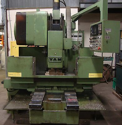 Yang Iron Works Cnc Mill Fanuc 10m Model A 20 Tool Changer Yam  18714isu