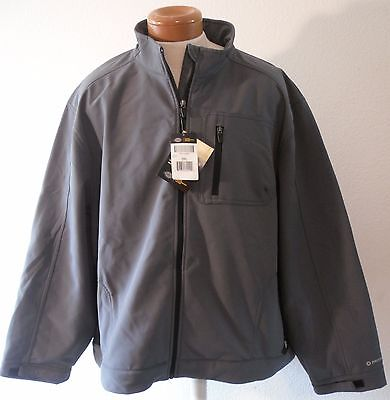 High Performance Charcoal (NWT Dickies Mens High Performance Softshell Jacket 3XL Charcoal MSRP$80)