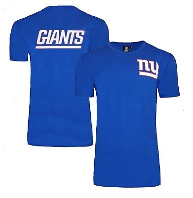 NFL New York Giants T Shirt Mens ALL SIZES NY Jersey Top