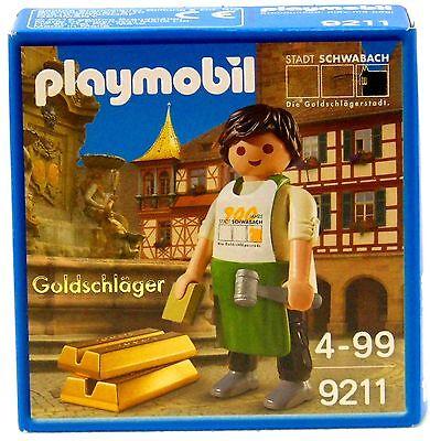 GOLDSCHLÄGER Playmobil EXCLUSIV EDITION 9211 Limitiert zu Blatt Gold OVP NEU !!!