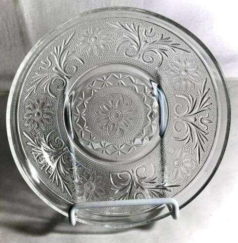 """Anchor Hocking Crystal Sandwich 6 3/4"""" Cereal Bowl"""