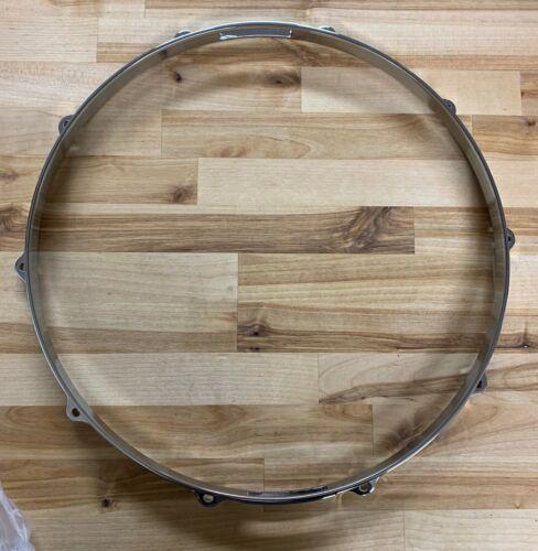 """Tama 14"""" Die Cast 10 Lug Chrome Snare Side Drum Hoop MDH14S-10"""