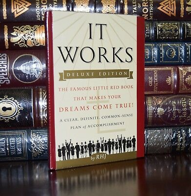 It Works Makes Your Dreams Come True New Sealed Collectible Hardcover Gift