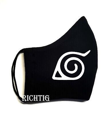 Angebote Mundschutz Naruto Motiv, 2 Schichten   Tragen Sie die blaue Schutzmaske