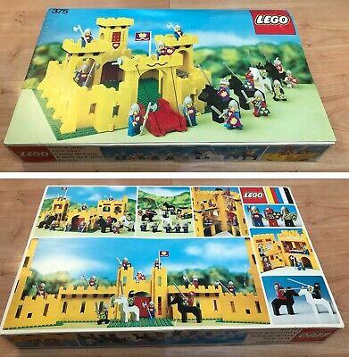 Lego vintage 375 Castle, complet avec boite et instruction en très bon état