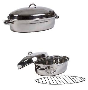 High Quality Stainless Steel Turkey Roasting Pan 15