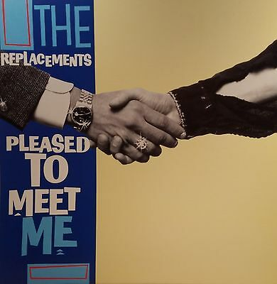 REPLACEMENTS 'PLEASED TO MEET ME' Album Flat Suitable for Framing MINT! 1987