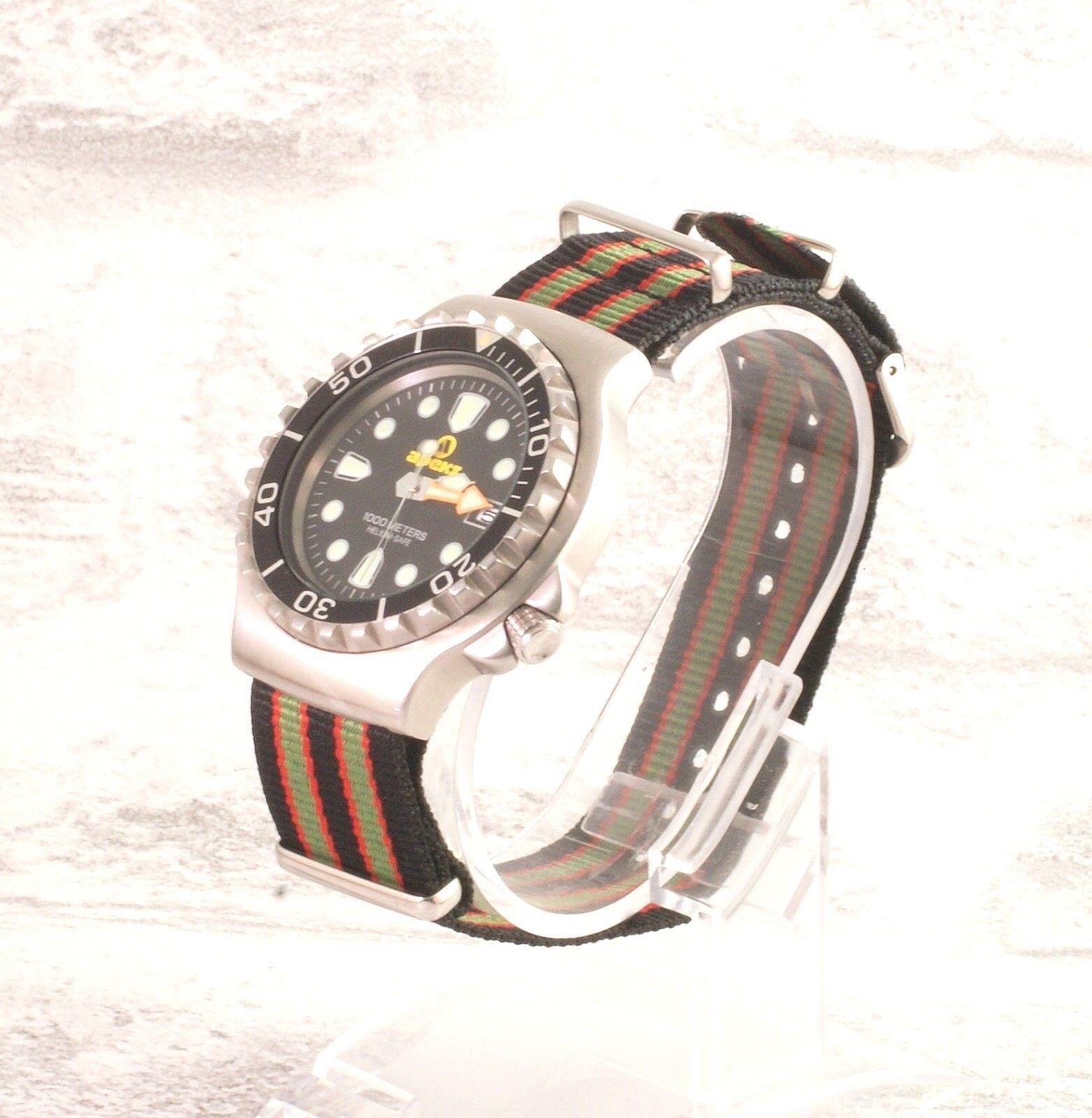 best sneakers 608fa 15aee 本当のジェームズ・ボンド007ミリタリー・ナイロンNATO腕時計は、18 20 22 24英国を結びつけますのeBay公認海外通販|セカイモン