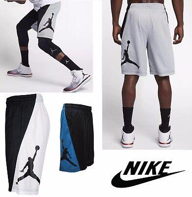 Nike Men Athletic Apparel Jordan Rise Vertical Basketball Shorts White