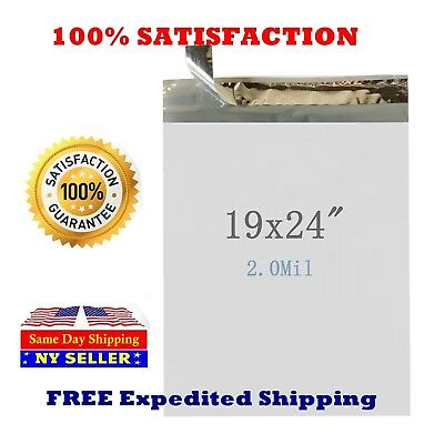 19x24 Poly Mailers Envelope Self Sealing Shipping Mailing Bags - St Shipmailers