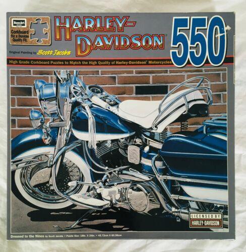 Rare Vintage Harley Davidson 1995 Puzzle