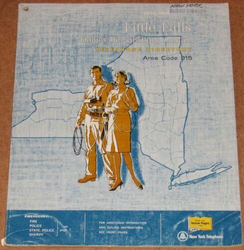 1965-1966 NEW YORK TELEPHONE DIRECTORY, AREA CODE 315, LITTLE FALLS, DOLGEVILLE